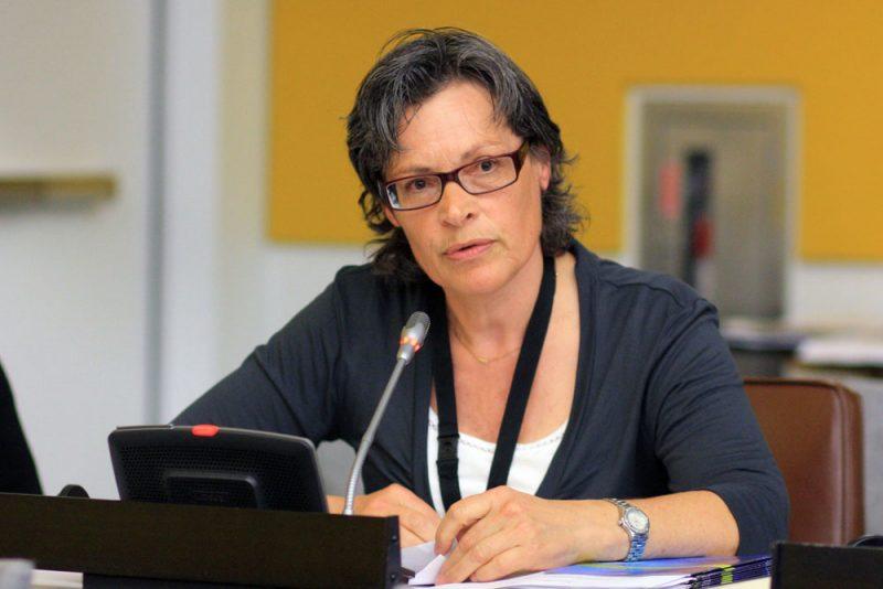Portrait OceanCare-Präsidentin Sigrid Lüber