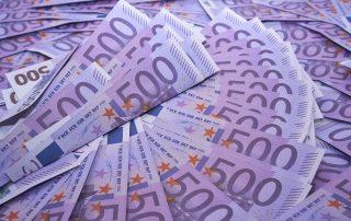 Deutsche Banknoten 500 Euro