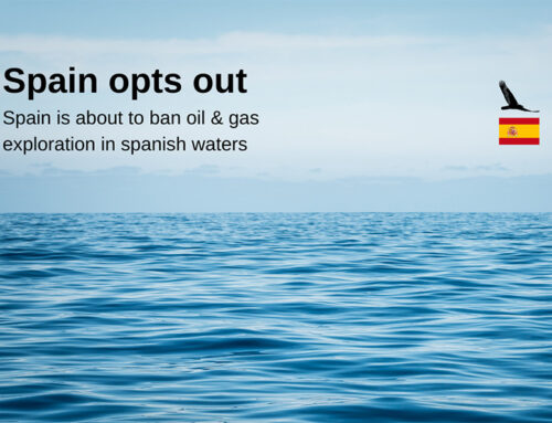 Spain puts an end to oil and gas exploration in its marine areas